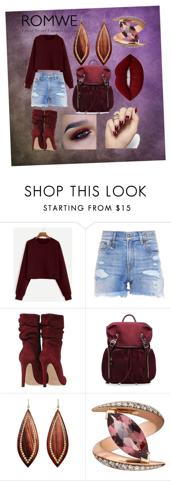 """""""Untitled #106"""" by sanat ❤ liked on Polyvore featuring R13, M Z Wallace, Mark Davis, Shaun Leane and Lime Crime"""