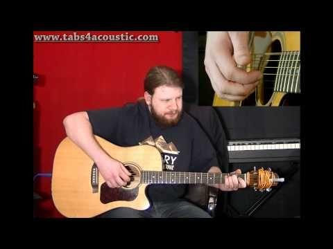 Cours de guitare : Les arpèges pour débutants - Partie 2 - YouTube