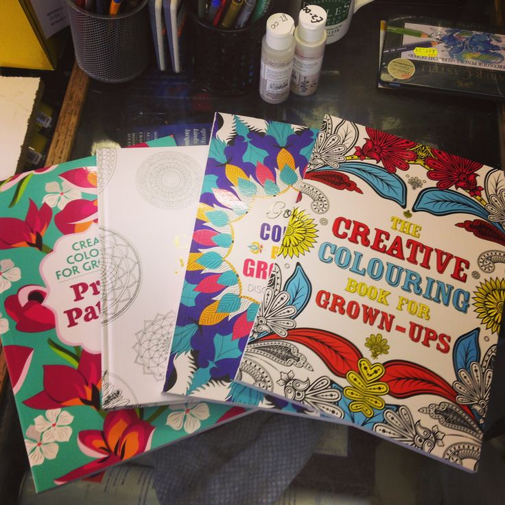 Just got a delivery of new adult colouring books #adultcolouring #relaxation #shoplocal