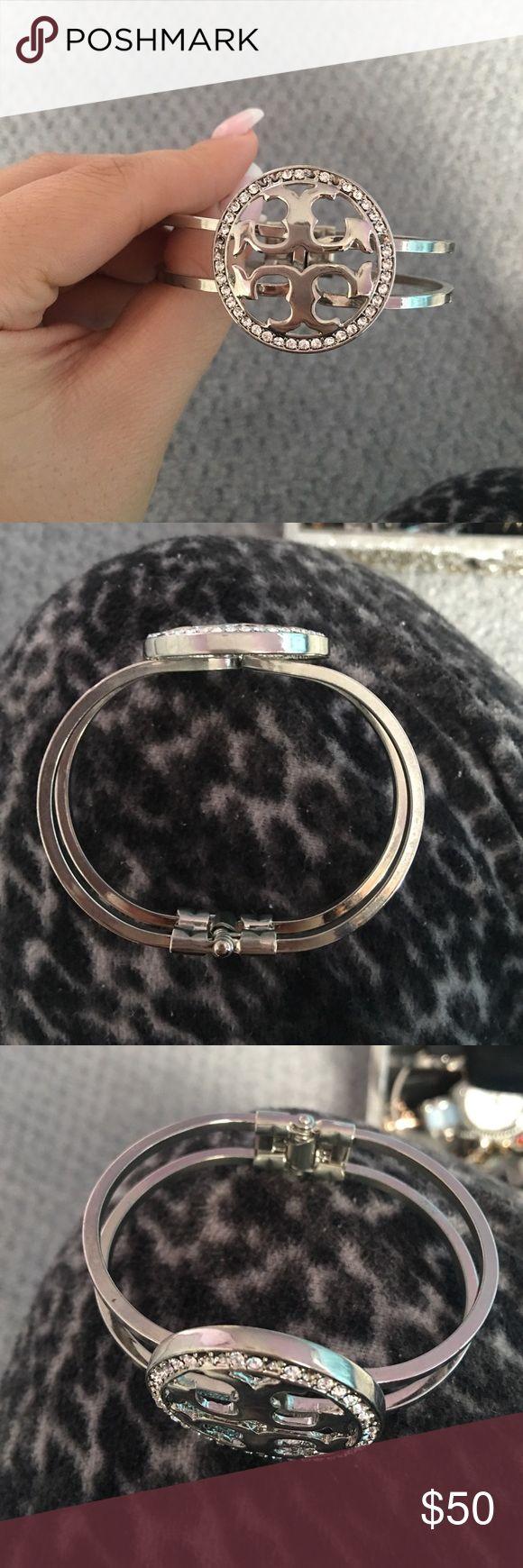 Authentic Tory Butch Bracelet Silver bracelet Tory Burch Jewelry Bracelets