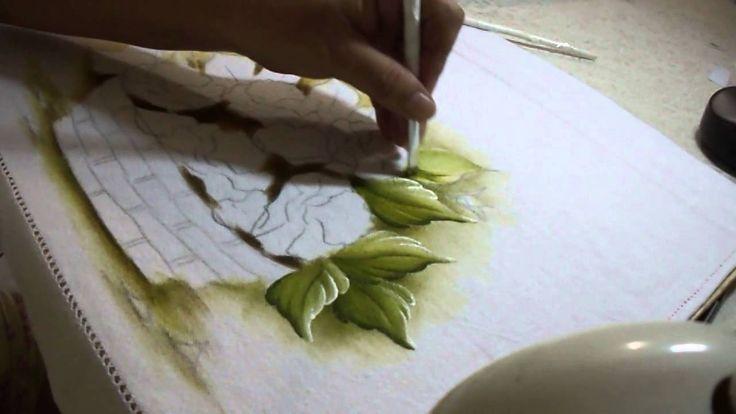 Pintando FOLHAS com Sorayacarneiro-artes (+playlist)