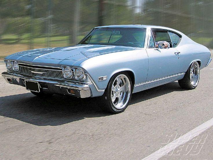 1968 chevy chevelle malibu - photo #12