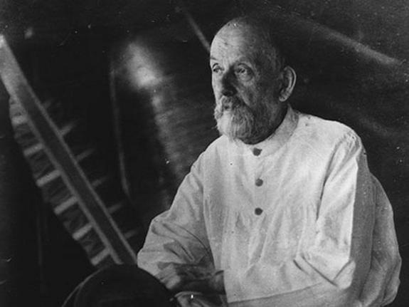 Konstantin Tsiolkovsky - Father of Russian Rocketry. Allegedly he spoke with the angels.