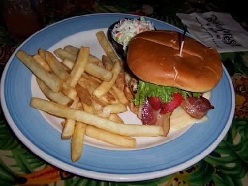 Rainforest Cafe Blue Mountain Grilled Chicken Sandwich with Safari Fries. The best meal I had in Las Vegas!