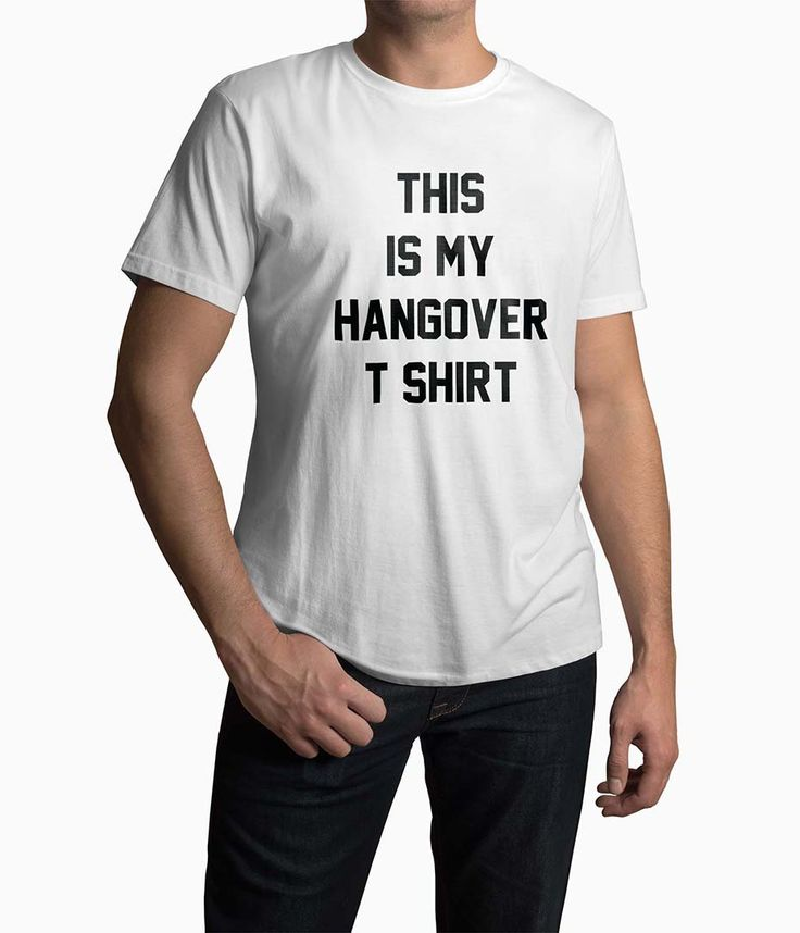 Tricou Barbati Personalizat This Is My Hangover T-Shirt