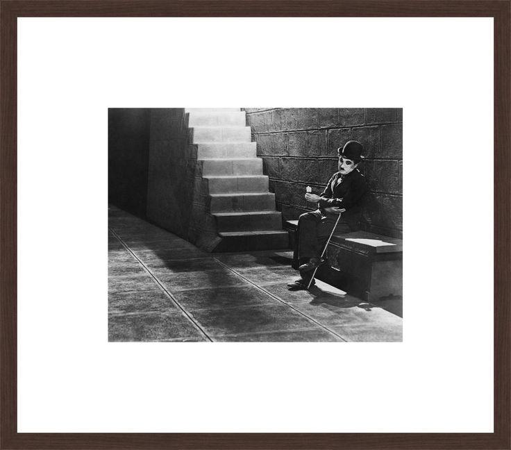 Tramp (Charlie Chaplin) - Charles Chaplin - Schilderijen, fotografie, fotokunst online bij LUMAS
