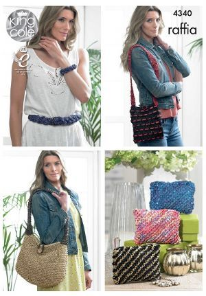 16 besten Summer is Raffia Bilder auf Pinterest | Strickmuster ...