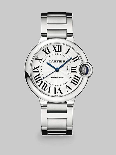 Ballon Bleu de Cartier Stainless Steel Watch by: Cartier