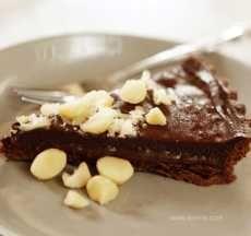 Salted caramel chocolate tart Thermomix