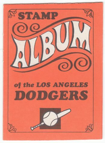 Don Drysdale & Don Sutton - 1969 Topps Stamp Album #7 Los Angeles Dodgers front, $9