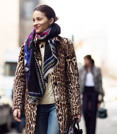 Stylish Big Cat Prints Rule The Streets This Spring