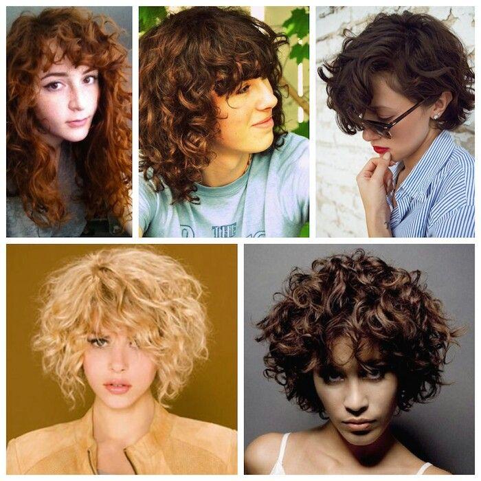Curly Fringe Hair Pinterest H 229 R