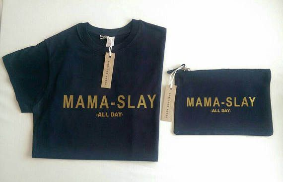 Check out this item in my Etsy shop https://www.etsy.com/uk/listing/524100113/mama-slay-makeupbag-lipsense-holder