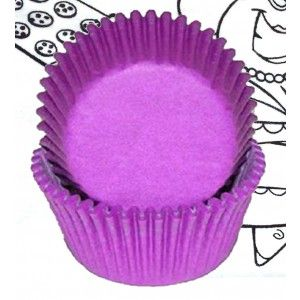 Goldas Kitchen Baking Cups - Solid - Purple - Standard Golda's Kitchen