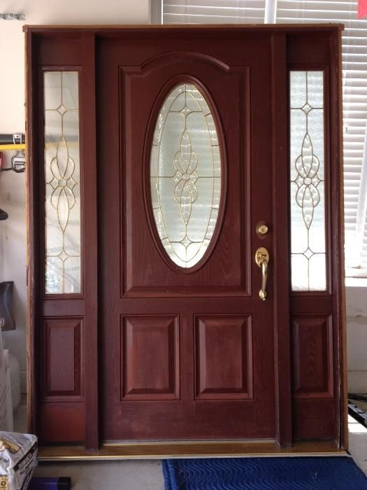 20 best images about old masters stain on pinterest - Paint or stain fiberglass exterior doors concept ...