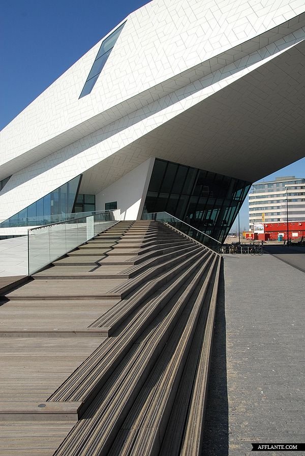 EYE film Institute, Amsterdam, Netherlands by Delugan Meissl Associated Architects