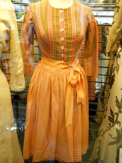 This is one of the originals from the movie. Maria wore it in the carriage sequence from the Do Re Mi sequence.