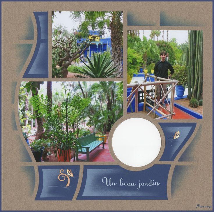 Floscrap - Jardin Majorelle deel 2 - 3/6