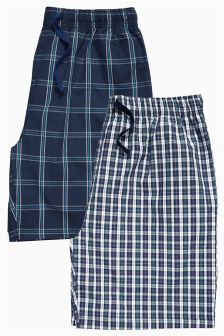 Two Pack Woven Shorts