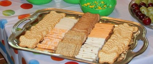 Very Hungry Caterpillar birthday food ideas like this butterfly cheese and cracker tray and more! CUTE CUTE CUTE!