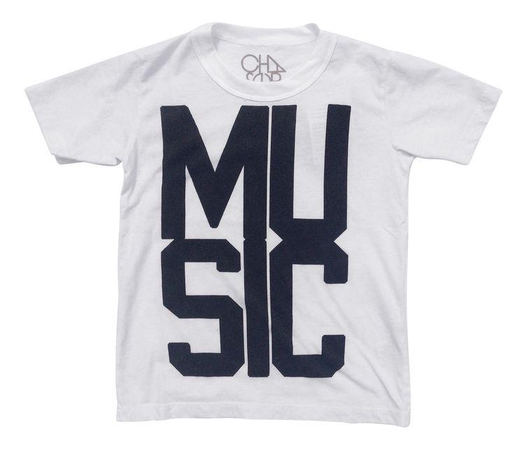 Chaser Kids Music T-Shirt  - online at www.alittlebitofcheek.com.au - Yes we ship internationally