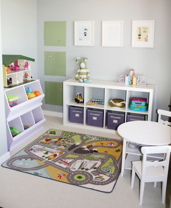 Toy room organisation expedit units or units which hold for Hampers for kids rooms