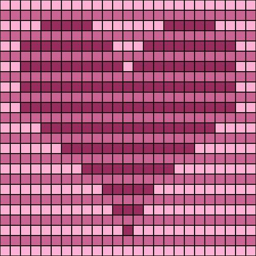 Knitting Heart Chart : Best images about d illusion afghans on pinterest