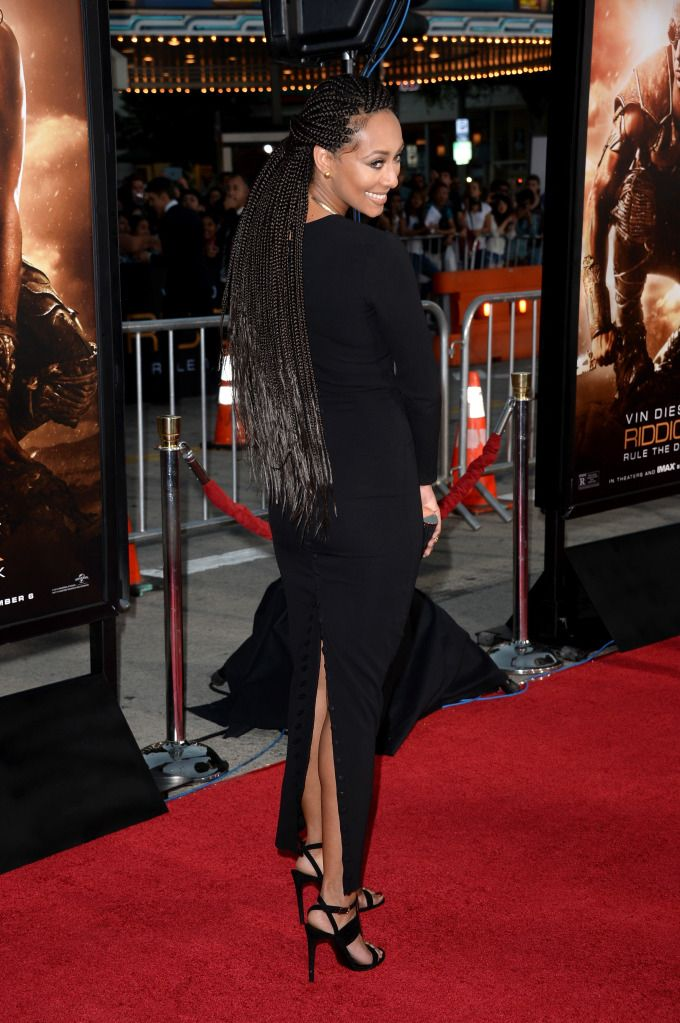 KERI HILSON / BOX BRAIDS / BRAIDS / PROTECTIVE HAIRSTYLE / NATURAL HAIR / SYNTHETIC HAIRSTYLE /