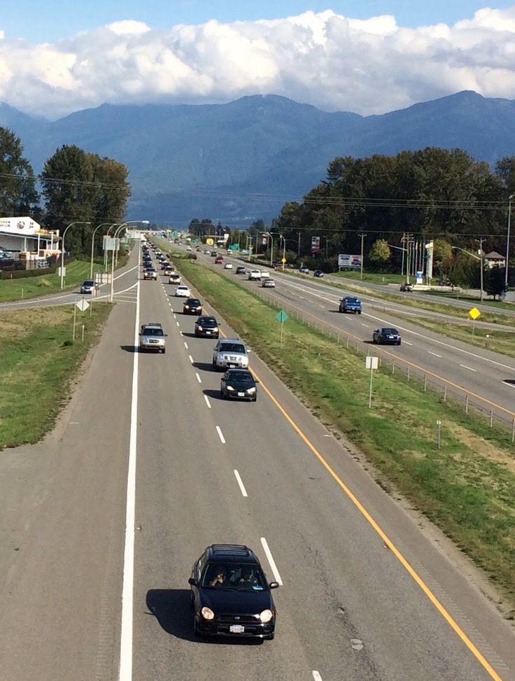 The highway thru Chilliwack. #1.