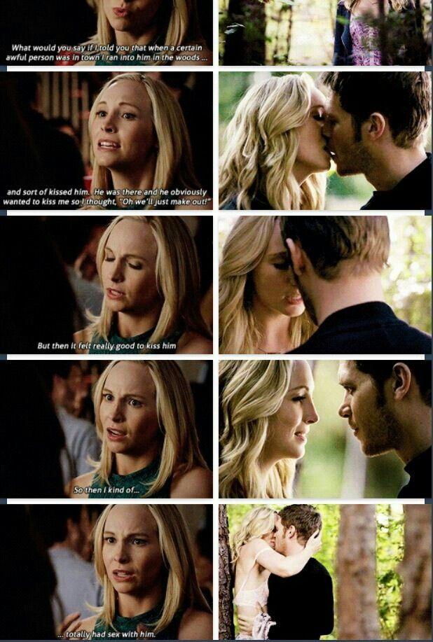 Oh how I love Caroline! She is so funny:)