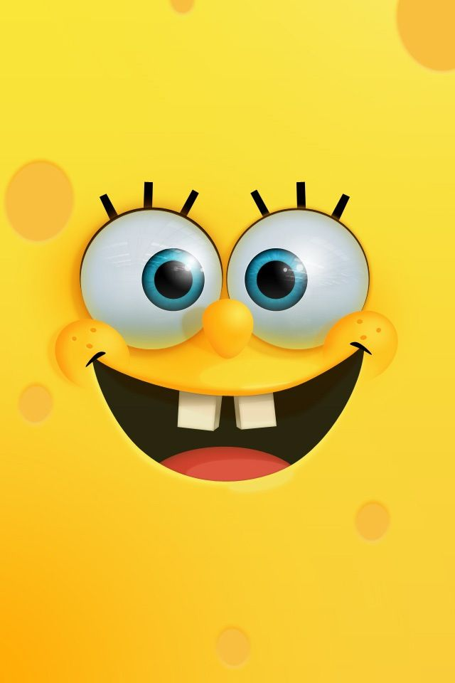 SpongeBob #iPhone 4s #Wallpaper |http://www.ilikewallpaper.net/iphone-wallpaper/, keep it as your iPhone wallpaper warehouse.