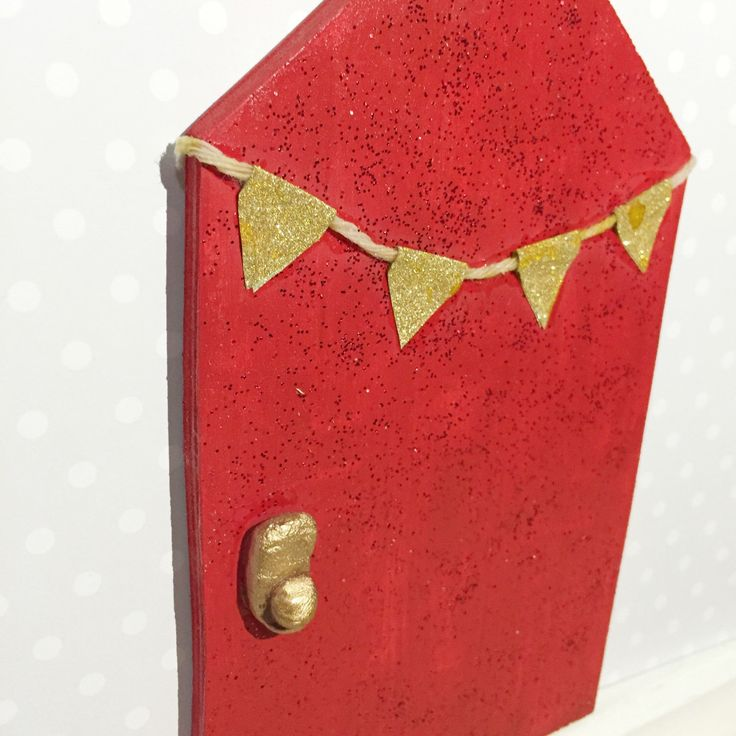 A personal favourite from my Etsy shop https://www.etsy.com/au/listing/276077090/red-fairy-door-bedroom-decor-woodland