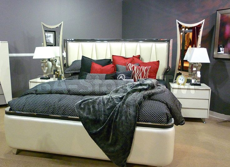 Michael Amini  Bedroom Set  Beverly Blvd Collection. Best 26 Furniture images on Pinterest   Home decor
