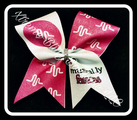 Cheer Bow-Character Cheer Bow by XtremeBlingBowtique on Etsy