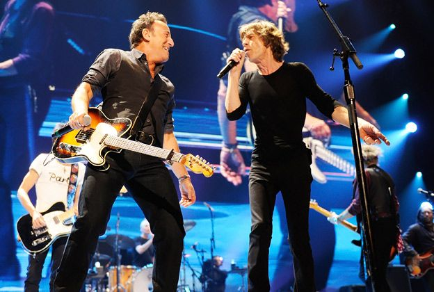 Rolling Stones Tour | The Rolling Stones, Bruce Springsteen, Mick Jagger, Prudential Center ...