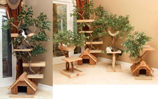 吊るすタイプのキャットタワー:Cat's Trapeze(キャット・トラピーズ) : 賃貸ネコ暮らし|賃貸住宅でネコを室内飼いする工夫