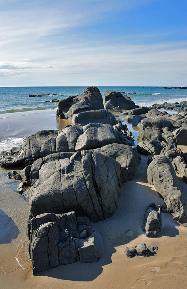 Rocks in Saligo Bay, Isle of Islay, Scotland