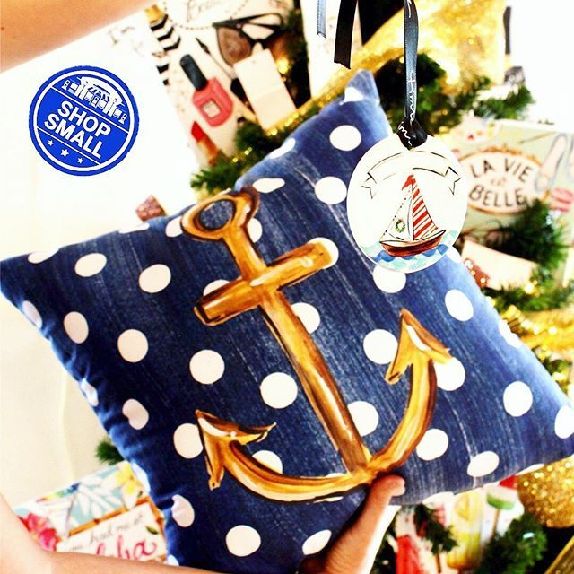 AHOY!✨We have all the perfect gifts for the nautical lover in your life!⚓️ Shop small with us at our BIGGEST SALE of the year, this Saturday 11/26 from 9am-1pm.🎁💕✨ Just in time for boat parades!! ✨✨🎁🎄