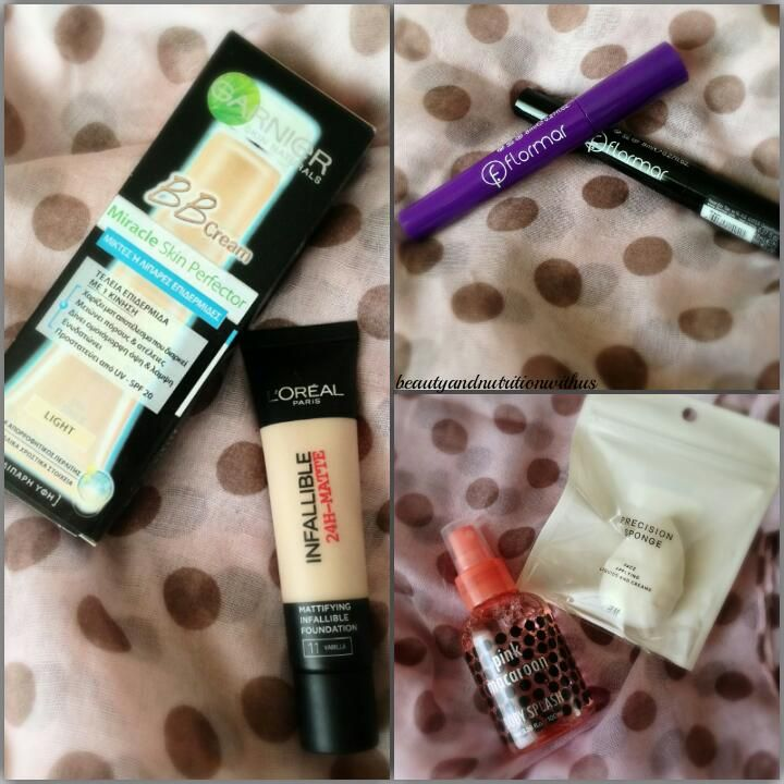 Mini Haul : Hondos,Florrmar and H&M!!!L'oreal,garnier bb