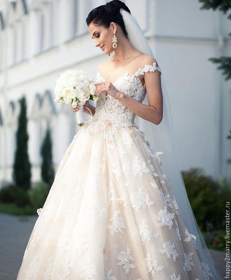 Silk Veil / Шелковый фатин - белый, айвори, фатин сетка, свадьба, свадебные аксессуары, фата