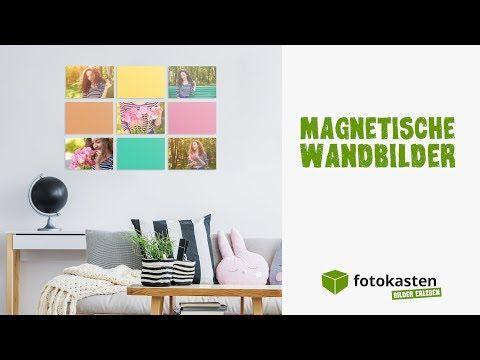 Fotocollage erstellen: 3 Gründe für magnetische Wandbilder - YouTube