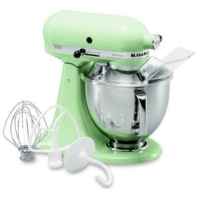 Fresh Mint / KitchenAid KSM150PSPT Artisan Series 5-Quart Mixer.   Blog   New sales blog