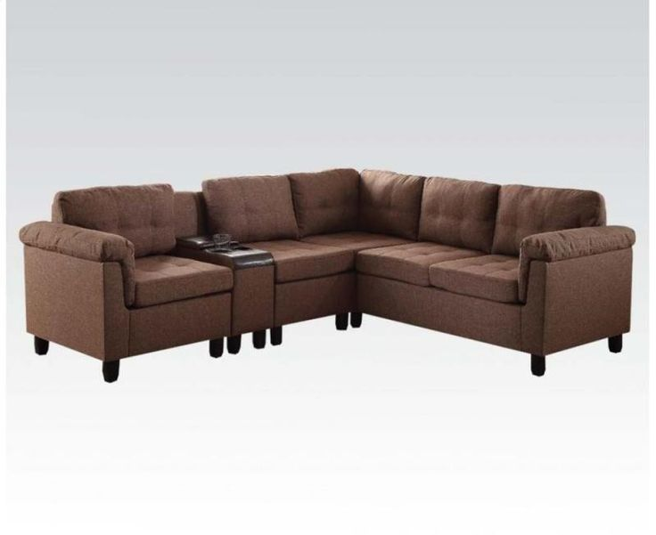 Pearl Igloo - Cleavon Brown Sectional Sofa 51530, $559.00 (http://pearligloo.com/cleavon-brown-sectional-sofa-51530/)