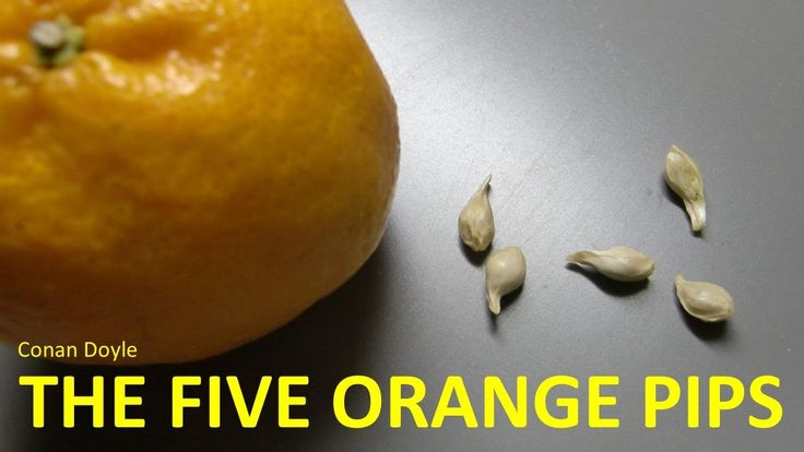 Learn English Through Story - The Five Orange Pips by Conan Doyle