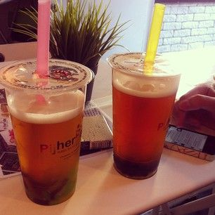 Photo by haniasagan(haniasagan): #yummy #bubbletea #ispendwaytoomuc... | iPhoneogram