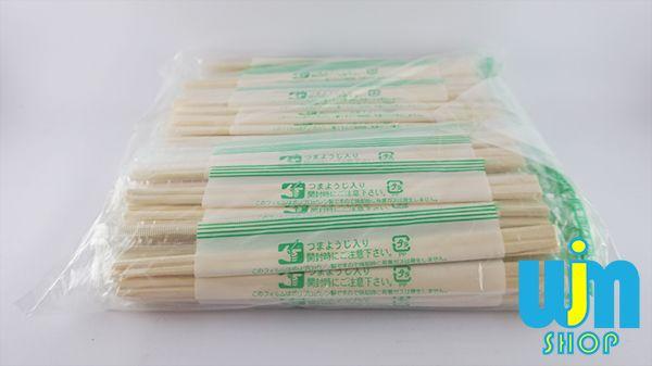 Sumpit Kayu Opp - 10 pasang Detail Sumpit Kayu: Isi: 10 pasang Kemasan: Plastik Bahan: Kayu Buatan: Jepang