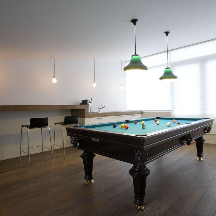 Private interior by Annekoos Littel interiorarchitects BNI #interior #interieur #annekoos #bni #architecture #pooltable #gameroom