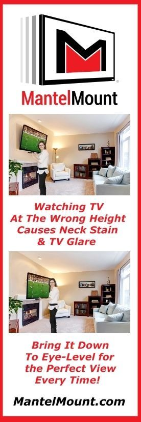 105 best images about mantelmount tv wall mount on pinterest tvs tv wall mount and fireplaces. Black Bedroom Furniture Sets. Home Design Ideas