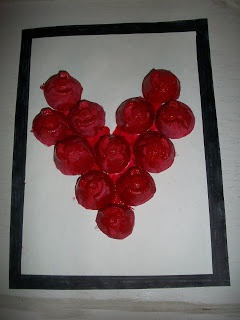 Turn an egg carton in to a unique heart valentine craft, kids will have fun with this recycled project