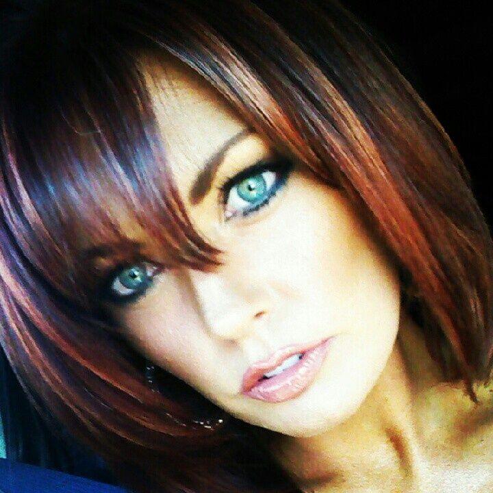 Copper highlights dark brown hair images hair extension hair copper highlights on dark brown hair the best hair 2017 dark hair with copper highlights best pmusecretfo Gallery